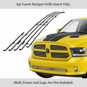 Fits 2013 2018 Ram 1500 Express And Sport Model Only Billet Grille Inserts