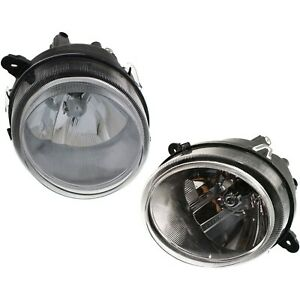 Headlight Set For 2007 2010 Jeep Compass 2007 2016 Patriot Lh Rh W Bulb