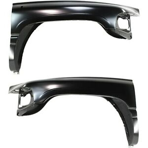 Fender For 94 2001 Dodge Ram 1500 Set Of 2 Front Driver Passenger Primed Steel