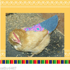 6 Tail Chicken Saddle Apron Hen Jacket Feather Protection Hatching Eggs Poultry