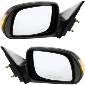 Power Side View Mirrors W Turn Signal Pair Set New For 05 10 Scion Tc