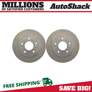 Rear Brake Rotors Pair 2 Fits 2000 02 2005 2006 2007 Mercedes Benz C230 96764