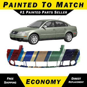 New Painted To Match Front Bumper Cover Fascia For 2001 2005 Volkswagen Passat