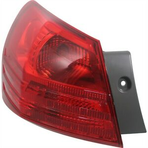 Tail Light For 2008 2013 Nissan Rogue 2014 2015 Rogue Select Driver Side