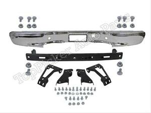 99 07 Silverado 1500 Fleetside Rear Bumper Chrome Reinforce Bracket Brace Screws