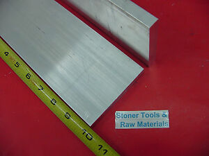 2 Pieces 1 2 X 4 Aluminum 6061 Flat Bar 10 Long T6511 Extruded Mill Stock
