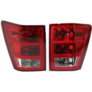 Pair Tail Light For 2005 2006 Jeep Grand Cherokee Lh Rh