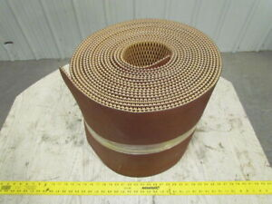 Wedgegrip Ep250 2pwg Tan Rubber Conveyor Belt 18 wide 5 16 Thick 50ft Long