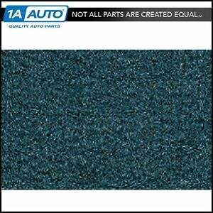 For 77 87 Caprice 2 Door Cutpile 818 Ocean Blue Br Bl Complete Carpet Molded