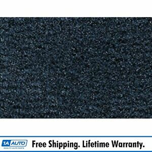 For 1977 87 Chevy Caprice 2 Door Cutpile 7625 blue Complete Carpet Molded