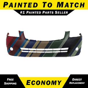 New Painted To Match Front Bumper Cover For 2005 2006 Nissan Altima Sedan