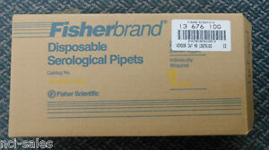 1 Box Of 200 1ml Falcon 357528 Disposable Serological Pipettes