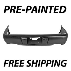 New Painted To Match Rear Bumper Cover For 2006 2011 Cadillac Dts W Park Asst