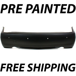 Painted To Match Rear Bumper Cover For 2008 2011 Cadillac Sts W o Upper Chrome