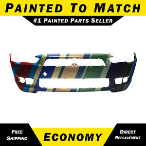 New Painted To Match Front Bumper Fascia For 2008 2015 Mitsubishi Lancer Gts Se