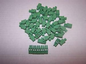 Phoenix Contact Mcvw 1 5 2 st 3 81 Printed Pcb Terminal Block New Lot Of 50