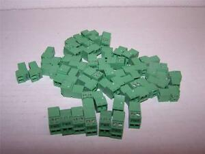 Phoenix Contact Imc 1 5 2 st 3 81 Printed Pcb Terminal Block New Lot Of 50
