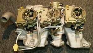 1961 Pontiac Aluminum Super Duty Tri Power System