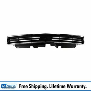 Grille Chrome Black Front Upper For Chevy Monte Carlo Impala
