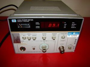 One Hp Hewlett Packard 436a Power Meter Actual Pictures With Warranty