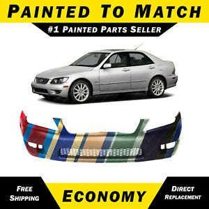 Painted To Match Front Bumper Cover Replacement For 2001 2005 Lexus Is300 Sedan