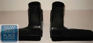 1968 Oldsmobile Cutlass 442 Lower Ram Air Scoops Oem Abs Plastic