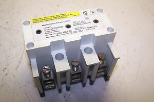 Westinghouse Current Limiter 100 Amp 600 Vac Style 1231c03g30 For Hmcp Or Fd Mag