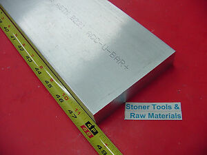 1 x 4 1 2 Aluminum Flat Bar 48 Long 1 000 Solid 6061 T6511 Plate Mill Stock