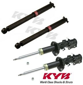 Kyb 4 Gr 2 Gr2 Struts Shocks Front Rear For Kia Rio From 2001 To July 1st 2002