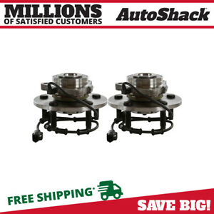 Front Wheel Hub Bearing Assembly Pair For 2002 2003 2004 2005 Dodge Ram 1500