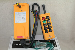 10 Channels Hoist Crane Radio Remote Control System 220v Yb