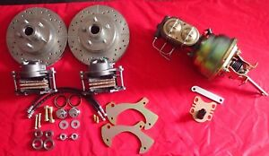 1965 1968 Ford Galaxie Power Front And Rear Disc Brake Conversion 4 Wheel Disc