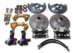 1968 1972 Gm A Body Chevelle Front Disc Brake Conversion Gto Stock Ride Height