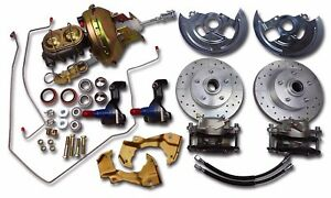 1964 1967 Gm A Body Chevelle Power Front Disc Brake Conversion Oem Look Booster