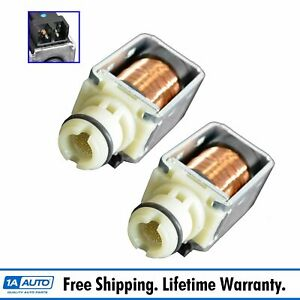 Transmission Shift Control Solenoid Pair For Chevy Gmc Cadillac Pontiac 4l60e