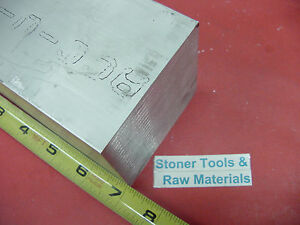 3 X 3 Aluminum 6061 Square Solid Bar 7 Long T6511 Flat New Mill Stock