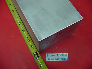 4 X 4 Aluminum 6061 Square Solid Bar 12 Long T6511 Flat New Mill Stock