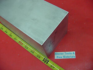 4 X 4 Aluminum 6061 Square Solid Bar 36 Long T6511 Flat New Mill Stock