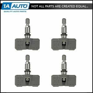 Dorman Tire Pressure Monitor Transmitter Sensor Tpms Kit Of 4 For Chrysler Dodge