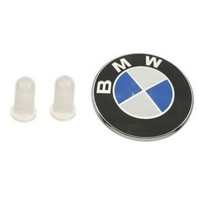 For Bmw E39 525i 528i 540i M5 Trunk Emblem With Grommets Oes