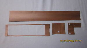 1972 Cutlass 442 Console Wood Grain Insert For Models With Duel Gate Shifter