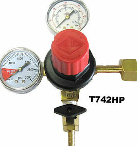 Co2 Regulator Draft Beer Parts Dual Gauge Taprite T742hp