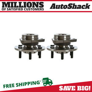2 New Front Wheel Hub Bearing Assembly Fits Dodge 97 04 Dakota 98 03 Durango 4wd