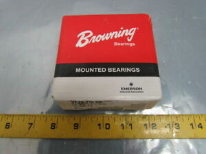 Browning Vf2s 216 Nk Mounted Ball Bearing Flange Unit 1 bore Special Food Nickel