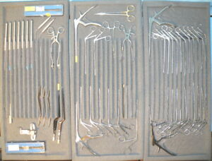 Storz Draf Skull Base Surgical Instrument Set Neurosurgery N662200