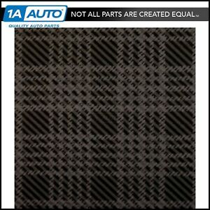 Gray Plaid Vinyl Trunk Mat For 65 66 Plymouth Fury New