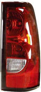 New Tail Light Assembly 2004 2007 Chevrolet Silverado Rt Side 1500 2500 3500 Rh