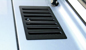 New For Jeep Wrangler Tj 98 06 Black Hood Vent X 11206 03