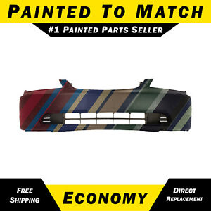 New Painted To Match Front Bumper Cover Replacement For 2001 2003 Honda Civic
