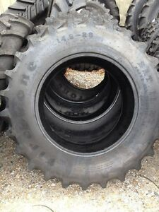 One 14 9x28 Firestone Sat Ii Ford John Deere 6 Ply R1 Bar Lug Farm Tractor Tire